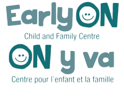 EarlyON Program Bilingual logo